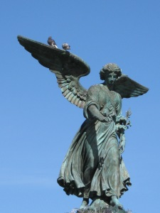 Bethesda angel, Central Park, NYC