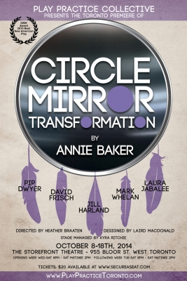 Circle Mirror Transformation. Email Poster