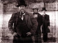 Craig Walker, Laurel Paetz & Christopher Blackwell in Exposure - photo by Greg Wanless