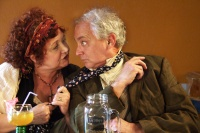 Lynne Griffin & Sean Sullivan in The Merry Wives of Windsor - photo by Madison Golshani, Daniel Pascale