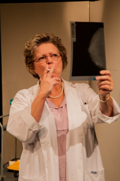 Helly Chester as Dr. Vera Peters in Radical - photo by Bruce Peters