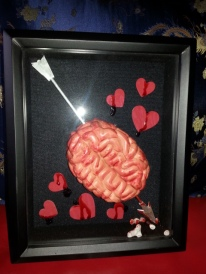 Zombie Love shadow box