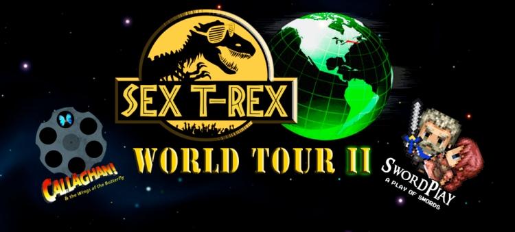 sex t-rex worldtour