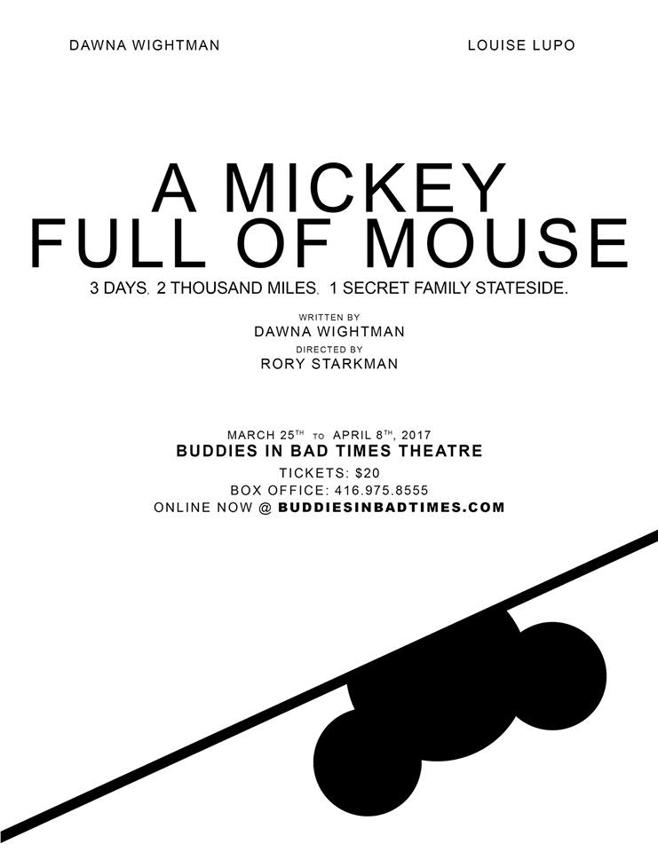 Getting to the other side of a childhood memory in the poignant, playful A Mickey Full of Mouse