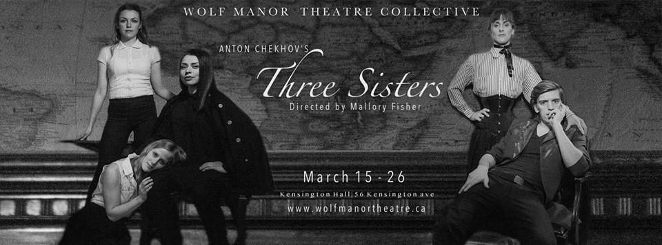 Profound longing & desperate hope in the beautifully melancholy, immersively designed Three Sisters