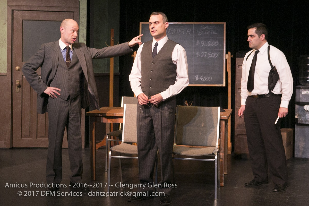 The ABCs of cut-throat real estate in the darkly funny, testosterone-fuelled Glengarry Glen Ross