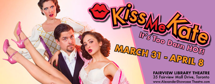 Backstage gangster shenanigans & romance in the delightful, sizzling Kiss Me Kate