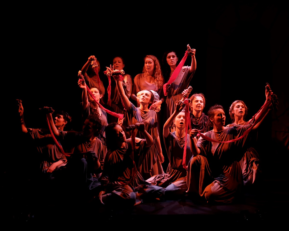 Giving a voice to the brave, resourceful women of The Odyssey in the engaging, theatrical The Penelopiad