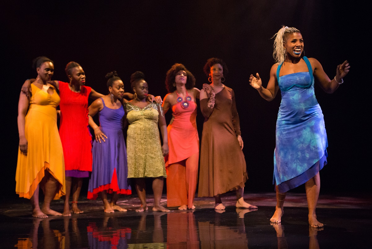 Reclamation & salvation—stories of Black women's lives told with candor, sass & humour in powerful, theatrical for colored girls