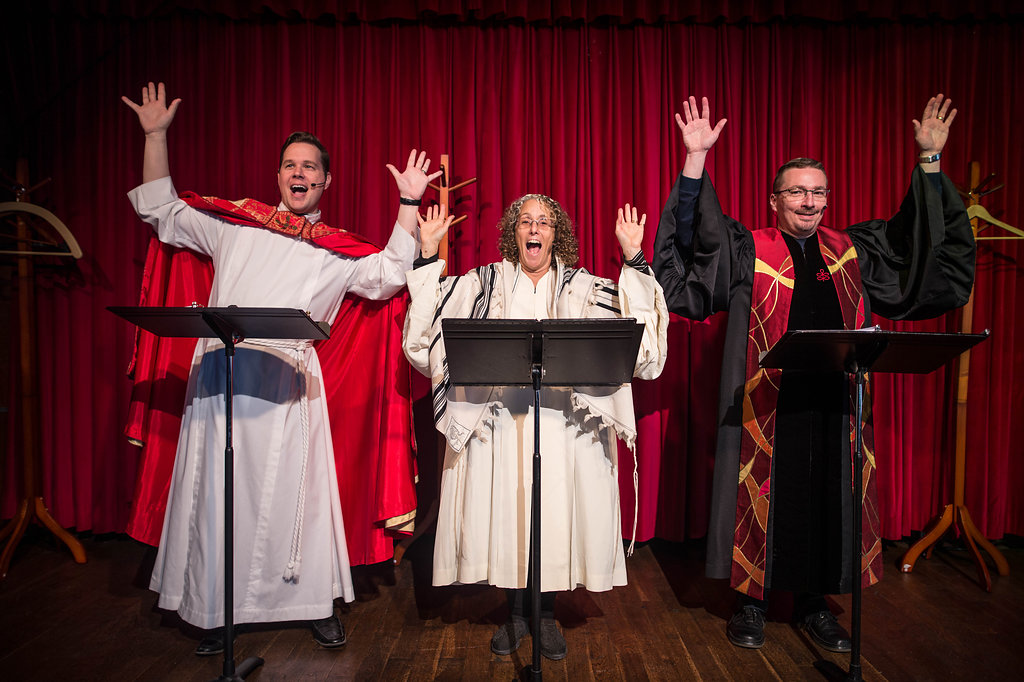 Toronto Fringe: Love, joy & taming dragons in the funny, frank, moving The ClergyProject