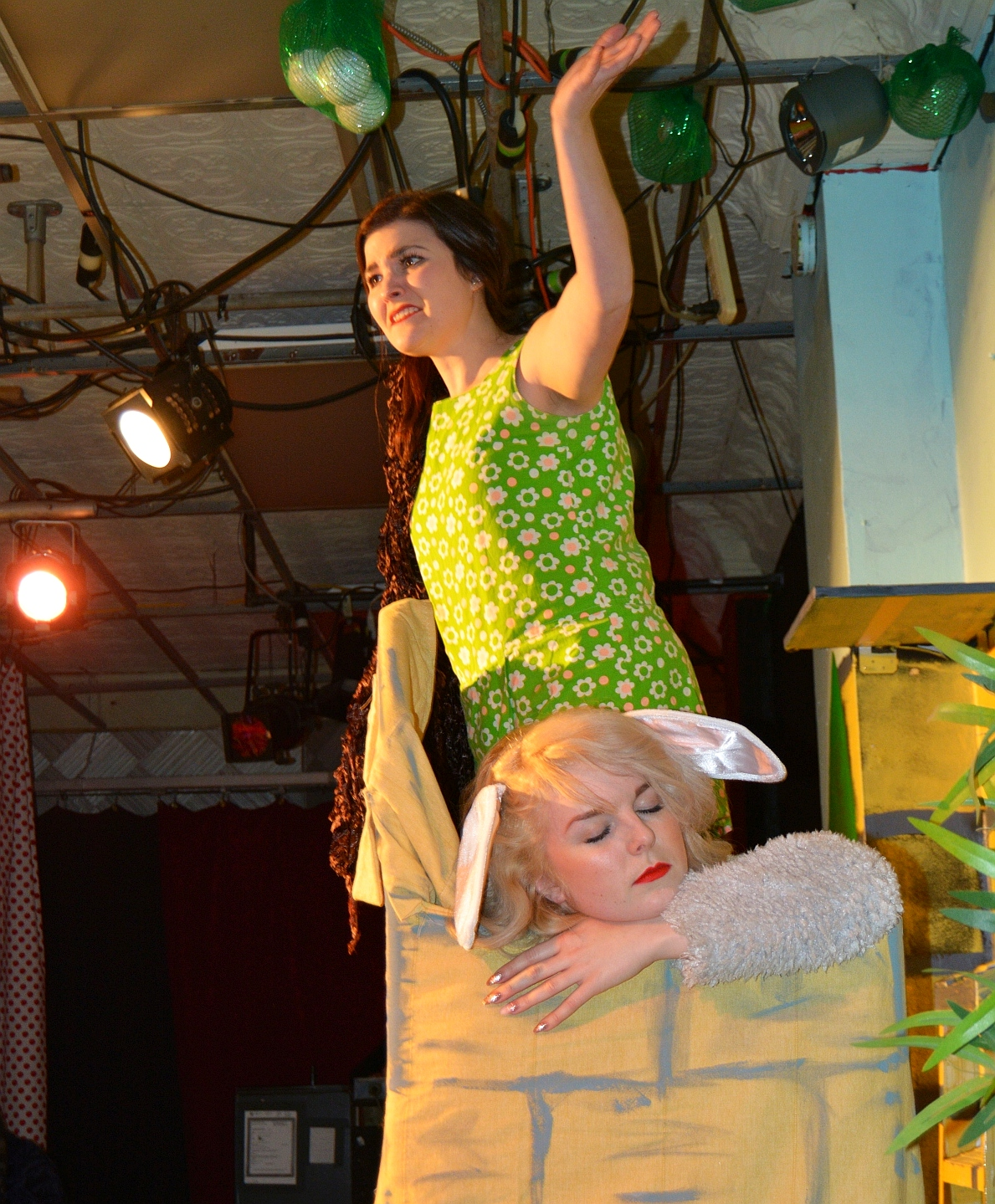 Pun & games for kids of all ages, with hilarious panto good times, in RaPUNzel