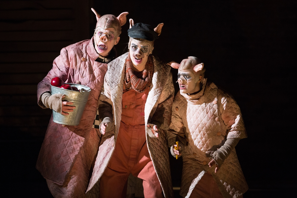 Revolution, reversal, revulsion: Soulpepper's disturbingly hilarious, brutally satirical, timely Animal Farm