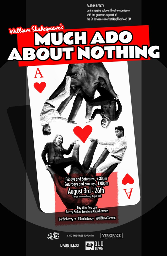 Love & games in Dauntless City Theatre's delightful, immersive, gender-bending adaptation of Much Ado About Nothing