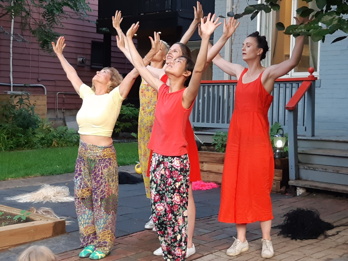 Dancing in the key of life in Kaeja d'Dance's joyful, moving, dynamic Porch View Dances 2019