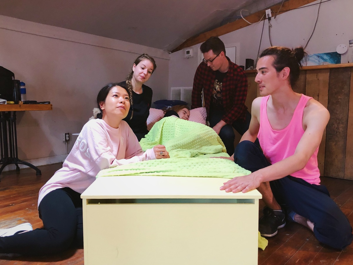Toronto Fringe: Joy, sadness & an unexpected friendship in the playful, imaginative, touching Beneath the Bed