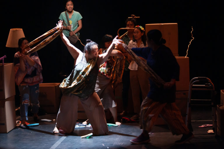 Toronto Fringe: Coping with loss & freeing the stories in the enchanting, playful adventure Through theBamboo