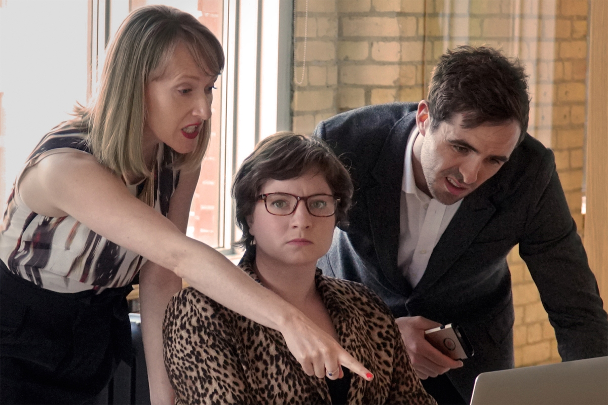 Toronto Fringe: Fear & loathing in the workplace in the razor-sharp, brutally honest dark comedy TheHuns