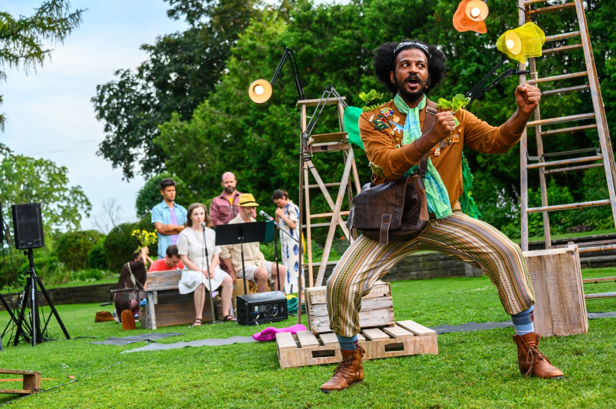 Rockin' good fun for all ages in the delightfully whimsical, magical A (Musical) Midsummer Night'sDream