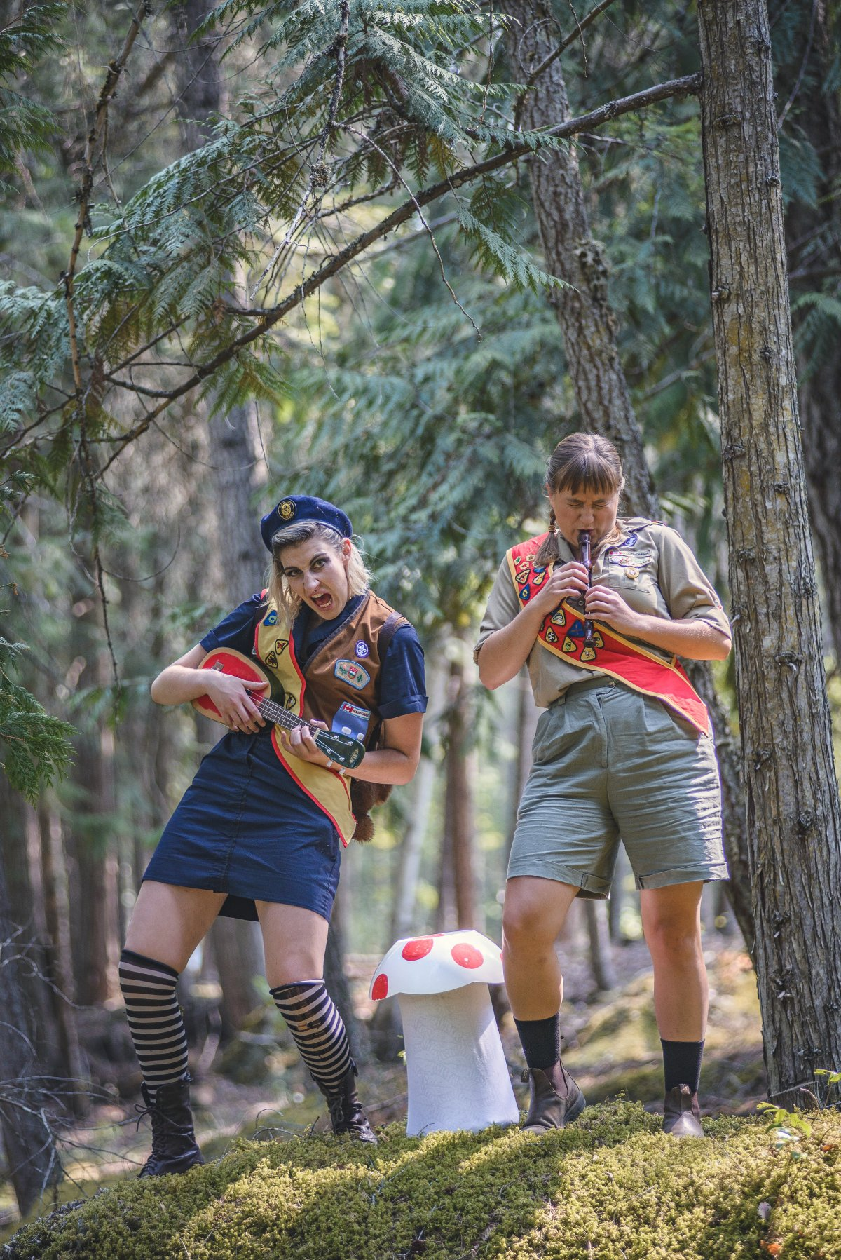 Toronto Fringe: Summer camp like you've never seen before in the wacky fun, sex-positive, feminist Pack Animals