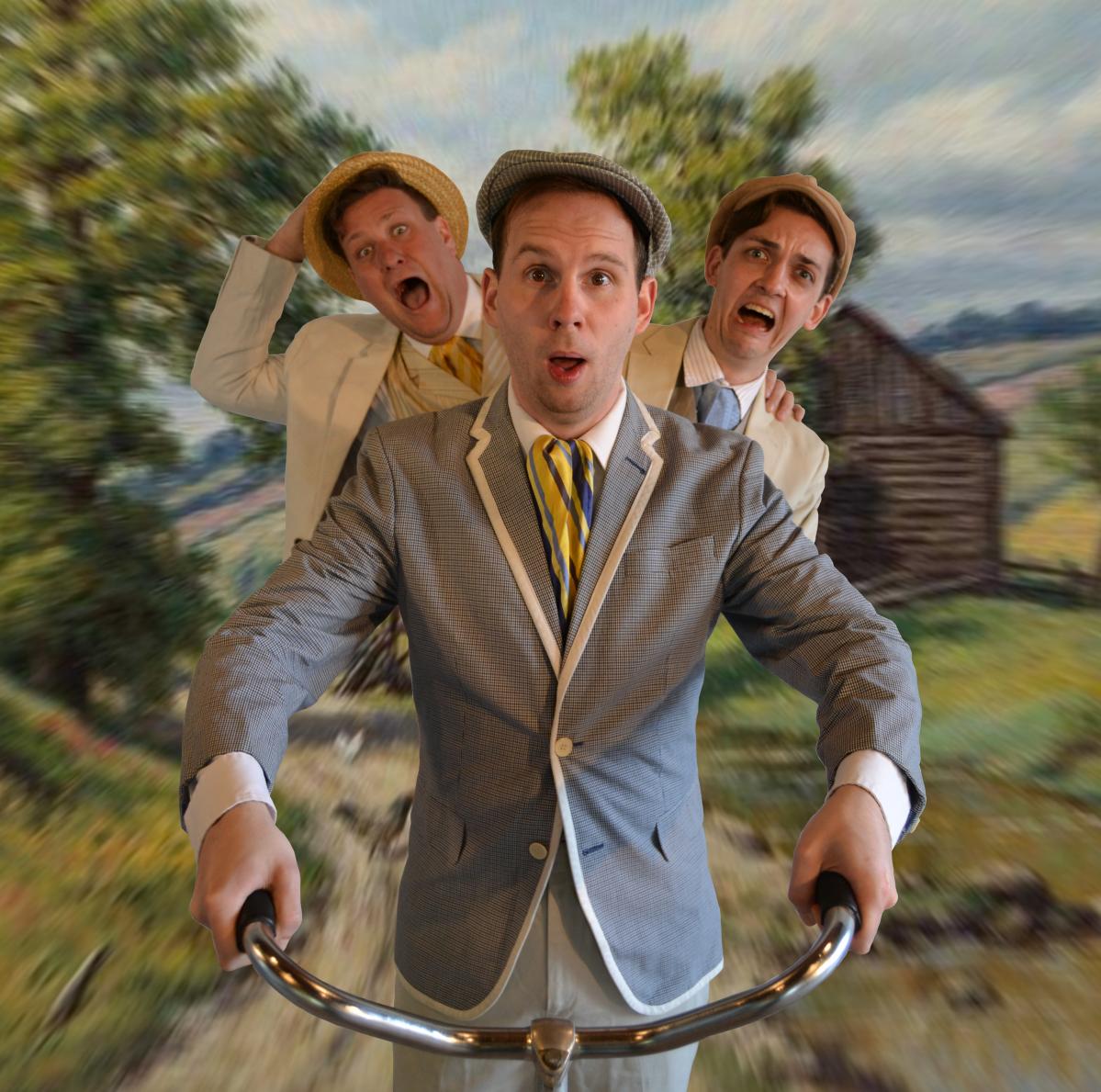 Toronto Fringe: Victorian bicycle tour shenanigans in the hilarious, entertaining Three Men on aBike