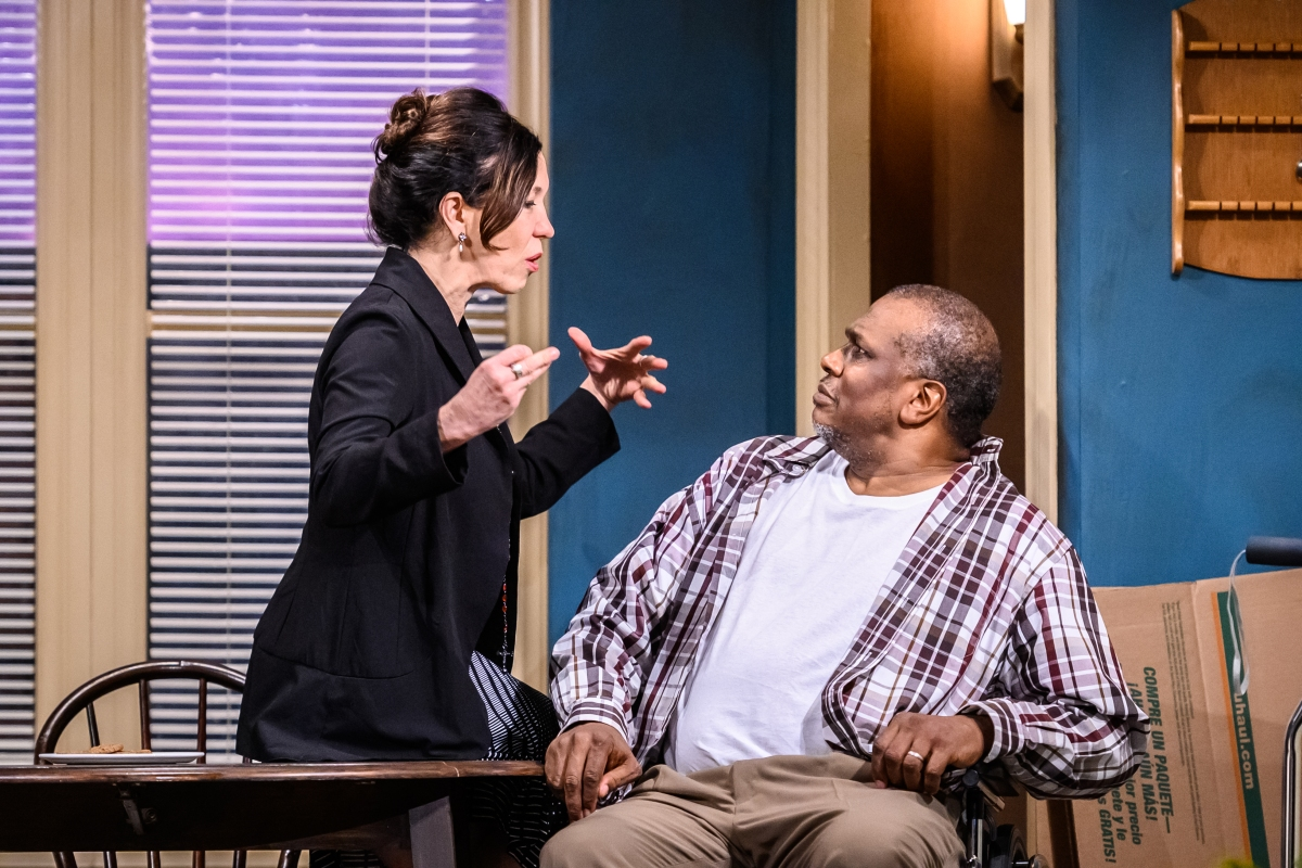 Shades of gray in the intimate, entertaining, deeply poignant Between Riverside andCrazy