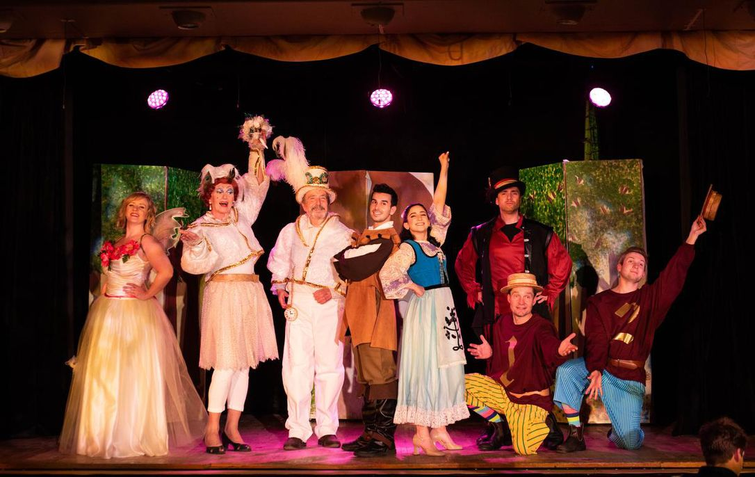 Good silly panto fun in Jack and the BeansTalk—A Merry Magical Pantomime
