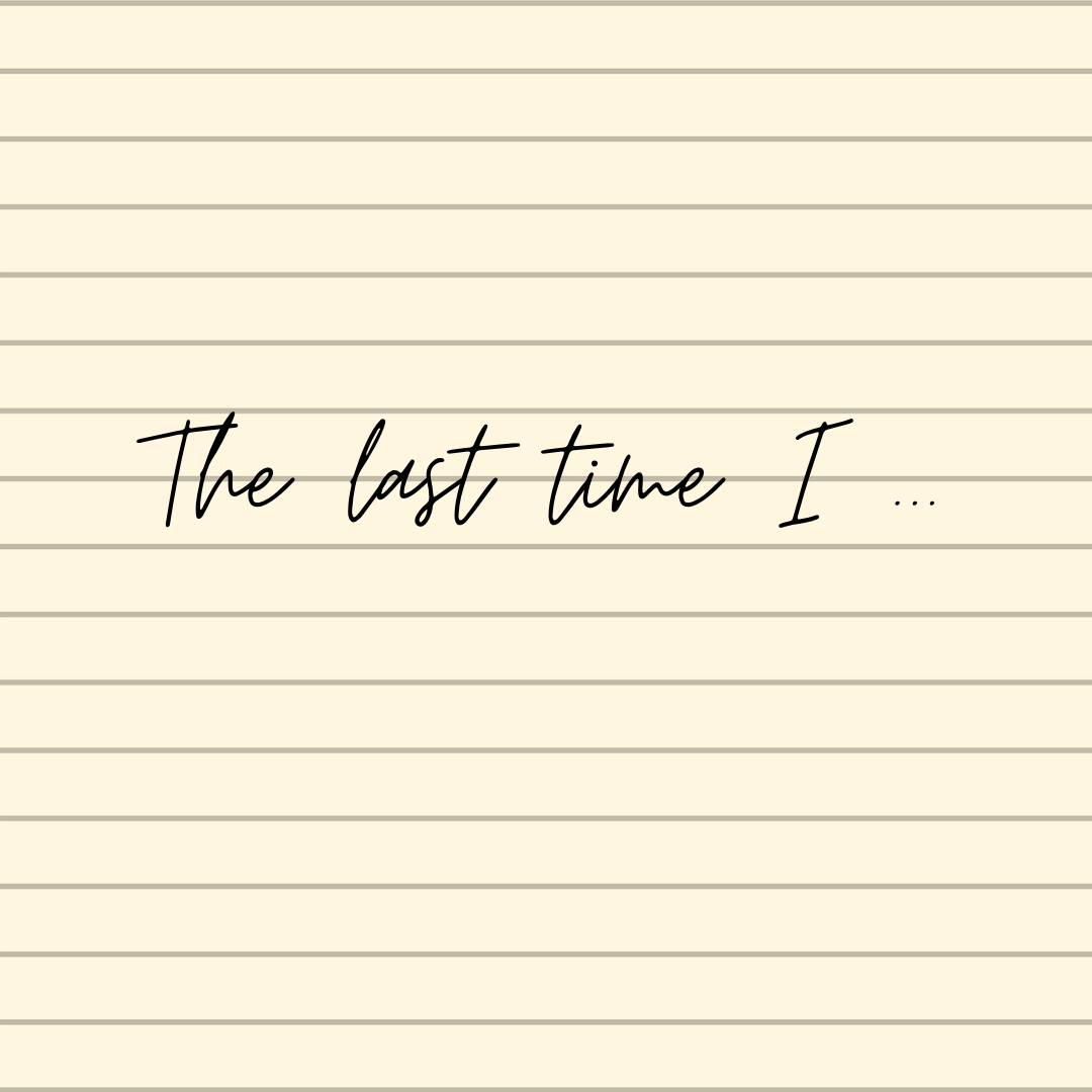 The list of lasts